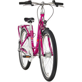 "Puky Skyride Light 24"" Børnecykel 3-trins Piger, berry"